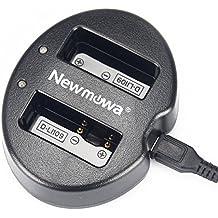 Newmowa Doppio Caricatore USB per Pentax D-Li109 Pentax K-R K-30 K-50 K-500 K-S1 K-S2 …