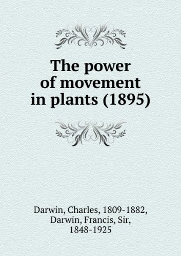 The power of movement in plants (1895)