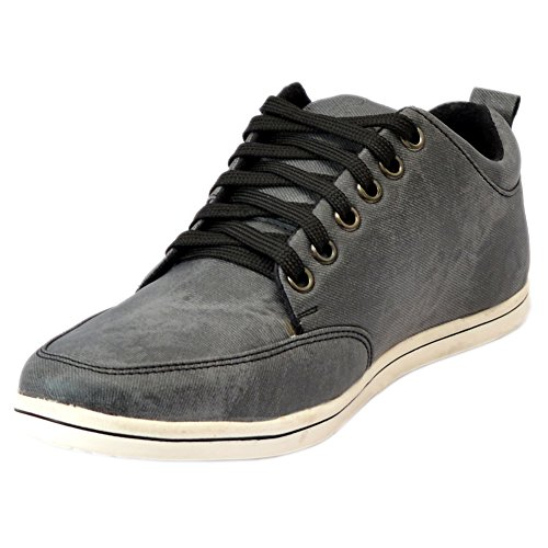 Cooper England Men's Grey and Black Casual Sneakers(CE-0290)-7 UK  available at amazon for Rs.899