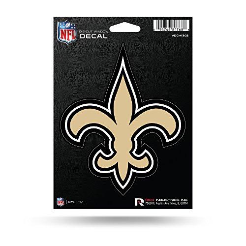 Rico Industries NFL New Orleans Saints Aufkleber aus Vinyl -