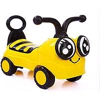 JZM Little Bee Children Baby Walker 1/2-3 Year Old Baby Scooter Twist Car Four-Wheel Music