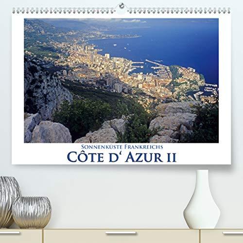 Cote d' Azur II - Sonnenküste Frankreichs (Premium, hochwertiger DIN A2 Wandkalender 2020, Kunstdruck in Hochglanz): Die Schönheit der Cote d' Azur ... (Monatskalender, 14 Seiten ) (CALVENDO Orte) -