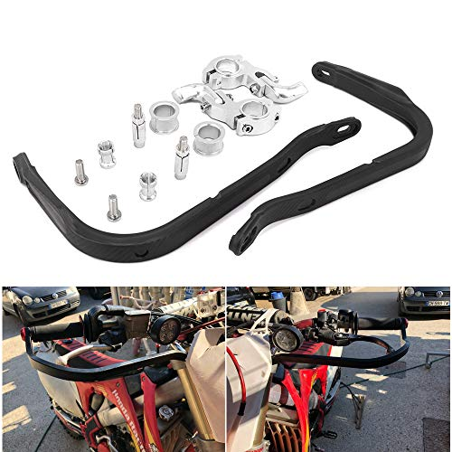 /Jaune Un Xin Moto Guidon de 1/1//20,3/cm 28/mm Fat Guidon Pad Ensemble de poign/ées pour Moto Motocross Pit Dirt Bike Suzuki RM250/Rmz250/Drz400/Rmz450/
