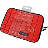 "Croco® 7"" Super Chocolate Case Cover Carry Sleeve for iPad Mini & 7"" Tablets - Red"