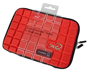Croco CAS1562 Super Chocolate Carry Case Cover/Sleeve for 7 inch iPad Mini/Tablets - Red