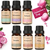 Skymore 6pcs Essential Oils Gift Set,Aromatherapy Essential Oil for Diffuser,100% Pure & Natural