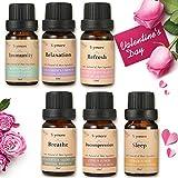 Skymore oli essenziale per diffusore, Aromaterapia Umidificatore Oli Kit,può Usare nel diffusore, San Valentino e regali per la festa della mamma