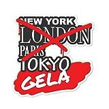 JOllify Aufkleber - GELA – Farbe: Design: Graffiti Streetart New York