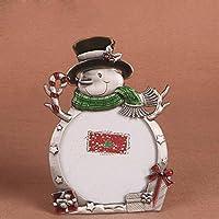 Creative Photo personalizzata cornice cornice altalene bambini vestiti simpatico cartone animato Natale cornice pupazzo di neve foto