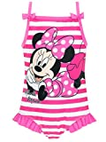 Disney Minnie Mouse - Costume da Bagno Ragazza Minnie Mouse - 4-5 Anni