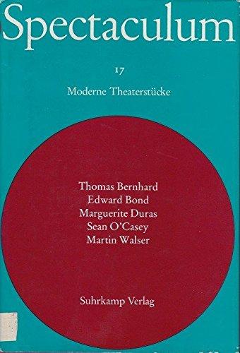 Ein Fest für Boris / Lear / Die Englische Geliebte / Der Stern wird rot / Ein Kinderspiel (Spectaculum - 17 (Fünf moderne Theaterstücke))