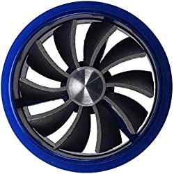 SODIAL(R) Ventilateur š€ turbine admission d'šŠpargnant de carburant - Bleu