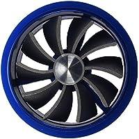 SODIAL(R) Ventilador de ahorro de combustible de admision Ventilador Turbo - Azul