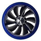 SODIAL(R) Ventilateur ¨¤ turbine admission d'¨¦pargnant de carburant - Bleu