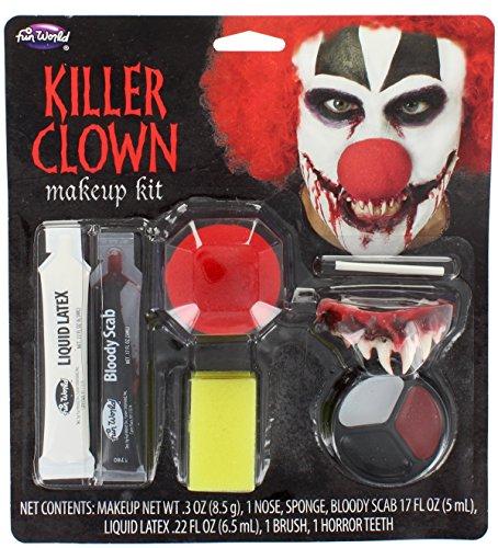 Mörder-Clown-Halloween / Karnevals-Verfassungs-Installationssatz (Halloween Zähne)
