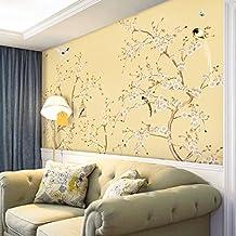HUANGYAHUI 3D Klassischen Pflaume Blüte Blume Und Vogel Hotel, Wohnzimmer  Mit TV, Sofa