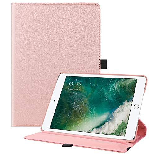 Fintie iPad 9.7 Zoll 2018 2017 / iPad Air Hülle - 360 Grad Rotierend Stand Cover Case Schutzhülle mit Auto Schlaf/Wach Funktion für Apple iPad 9,7'' 2018 2017 / iPad Air 2 / iPad Air, rosa glitzernd (Ipad Wifi 4g Mini)