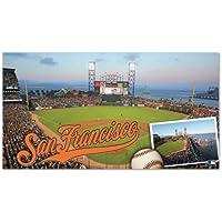 WinCraft San Francisco Giants AT&T Park Baseball MLB Teppich