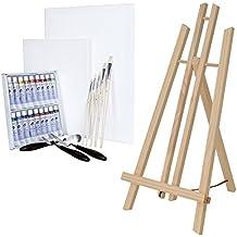 ARTINA® Set pittorico da 29 unità con cavalletto da tavolo