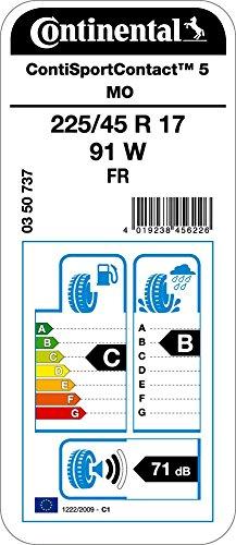 Continental-ContiSportContact-5-22545R17-91W-CB71-Pneumatico-Estivos