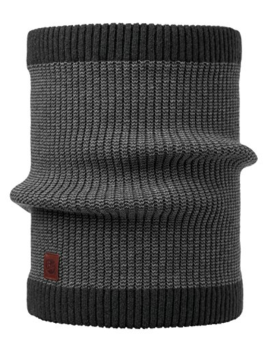 Set - Buff® Knitted NW Écharpe Tube + UP® Ultrapower Tissu Tubulaire | Écharpe de Tube | 15% Laine d'agneau | Anti-Odeur | Respirante | Climat-régulation
