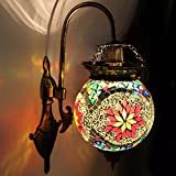 Earthenmetal Handcrafted Ball Shaped Designer Hanging Wall Lamp/Light With Metal Fitting