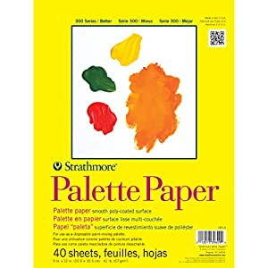 Strathmore Palette Paper Pad 9''X12''-40 Sheets