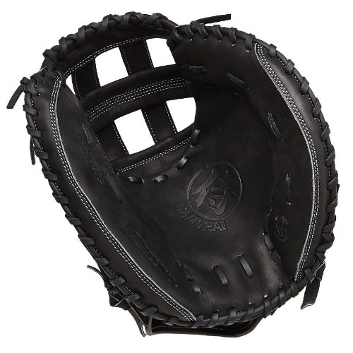 Mizuno gxs31tg Samurai Linkshänder Überwurf Fastpitch Fanghandschuh, schwarz, 34.50-inch -