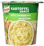 Knorr Kartoffel Snack Röstzwiebeln & Croûtons, 1 Portion