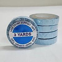 showjarlly, 1 rollo de cinta adhesiva de doble cara super azul encaje cinta de soporte