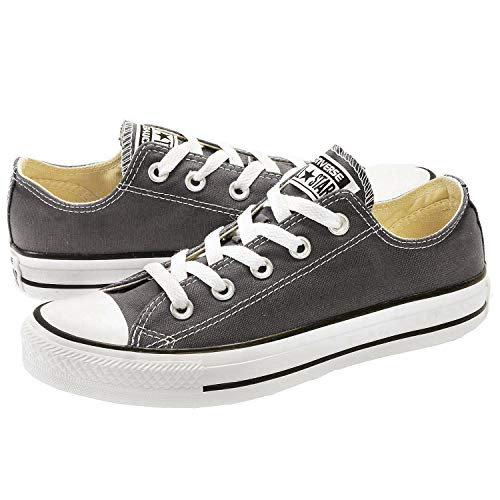 CONVERSE Chuck Taylor All Star Seasonal Ox, Unisex-Erwachsene Sneakers, Schwarz (Black/white), 40 EU