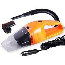 PIXNOR Coche Aspiradora Polvo Colector Naranja - 12V 120W