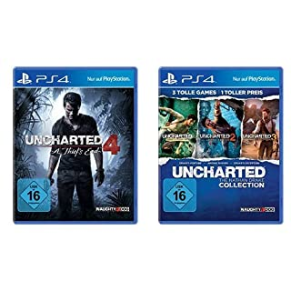 Uncharted 4: A Thief's End + Uncharted: The Nathan Drake Collection [PlayStation 4] (B01IRFRMYG) | Amazon price tracker / tracking, Amazon price history charts, Amazon price watches, Amazon price drop alerts