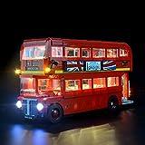 LIGHTAILING Licht-Set Für (Creator Londoner Bus) Modell - LED Licht-Set Kompatibel Mit Lego 10258(Modell Nicht Enthalten)