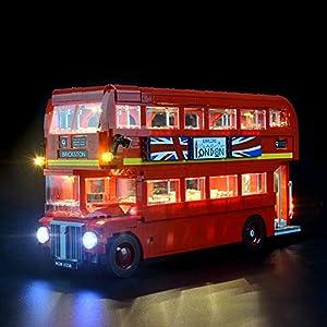 LIGHTAILING Set di Luci per (Creator Expert Autobus Londinese) Modello da Costruire - Kit Luce LED Compatibile con Lego… 9 spesavip