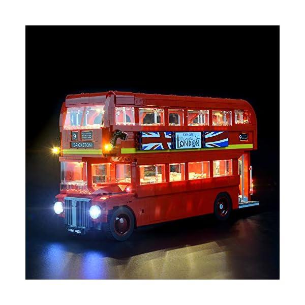 LIGHTAILING Set di Luci per (Creator Expert Autobus Londinese) Modello da Costruire - Kit Luce LED Compatibile con Lego 10258 (Non Incluso nel Modello) 1 spesavip