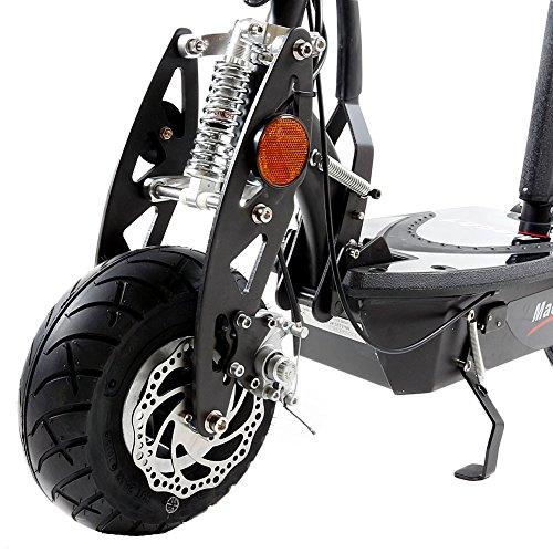 MACH1® Elektro E-Scooter mit EU Strassenzulassung 20Km/h Mofa Modell-2 EEC 36V/500W (Es besteht keine Helmpflicht für diesen Scooter) (1x 36V-14Ah Original Akkus) - 4