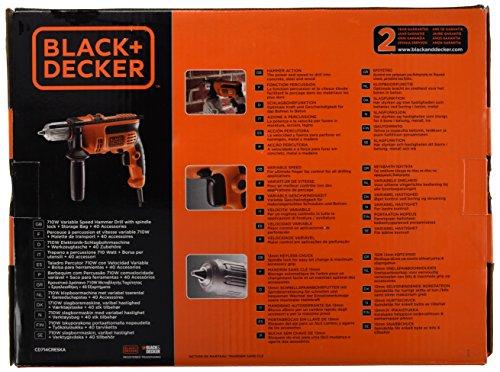 BLACK+DECKER CD714CREW2 – Trapano Martello 710w