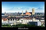 empireposter - Deutsche Städte - München - Größe (cm), ca. 91,5x61 - Poster, NEU -