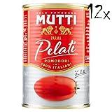 12x Mutti Pomodori Pelati bestern geschälte Tomaten sauce aus Italien dose 400g