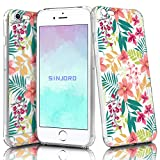 Sinjoro Coque iPhone 6S Plus/iPhone 6 Plus, Ultra Mince Motif de Fleurs Claires TPU Souple Coque, Antichoc Clair Florale Housse pour Apple iPhone 6S Plus/iPhone 6 Plus 5,5' (Fleur#1)