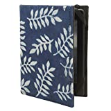 Jaipur Classic Cotton and Paper Kindle Case Cover for Kindle/Paperwhite/Touch (Blue)