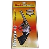WICKE Western Revolver Ringo Pistole Karneval Kostüm Faschingszubehör Cowboy Sheriff NEU