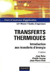 Transferts thermiques : Introduction aux transferts d'énergie