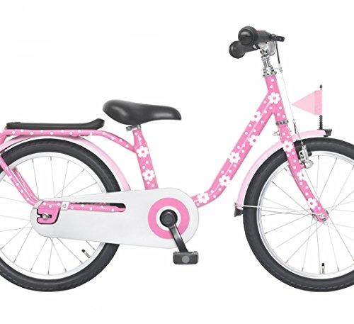 Preisvergleich Produktbild ilka parey wandtattoo-welt® Fahrradaufkleber Set Blümchen und Punkte dots Fahrradsticker Aufkleber für Kinder M1007