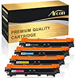 Arcon 4 Toner kompatibel zu Brother TN-241 TN-245 für Brother HL-3140CW Brother DCP-9020CDW, HL-3150CDW, HL-3142CW, MFC-9330CDW, MFC9140CDN, HL-3170CDW, MFC-9340CDW, TN-241BK TN-245C TN-245M TN-245Y