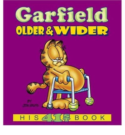 By Jim Davis ( Author ) [ Garfield Older & Wider: His 41st Book Garfield Classics (Paperback) By Jan-2005 Paperback