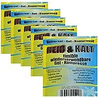 5 Stück all-around24 Kalt-Warm-kompresse Mehrfach Kompresse Wiederverwendbar Coolpack Mikrowellen geeignet (5) preisvergleich bei billige-tabletten.eu