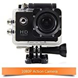 Digital Action Camera & Sports Camcorder 1080P Full HD Camera DVR 30M Waterproof 2.0Inch TFT with 170 Degree Wide Angle Lens & Accessories