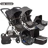 Be Cool  - Coche de paseo trío  slide 3 top negro/beige